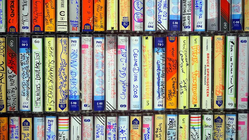Musikkassettensammlung
