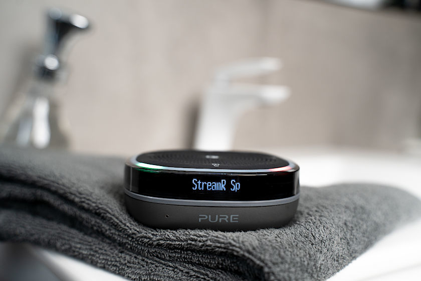 Der Pure-StreamR-Splash fühlt sich auch bei feuchter Umgebung wohl