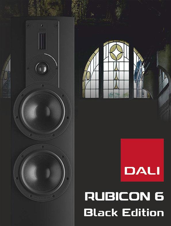 DALI RUBICON 6 Black Editition