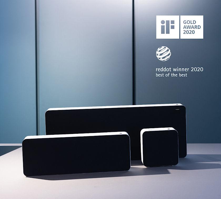 Braun LE Lautsprecherserie mit Design Auszeichnungen