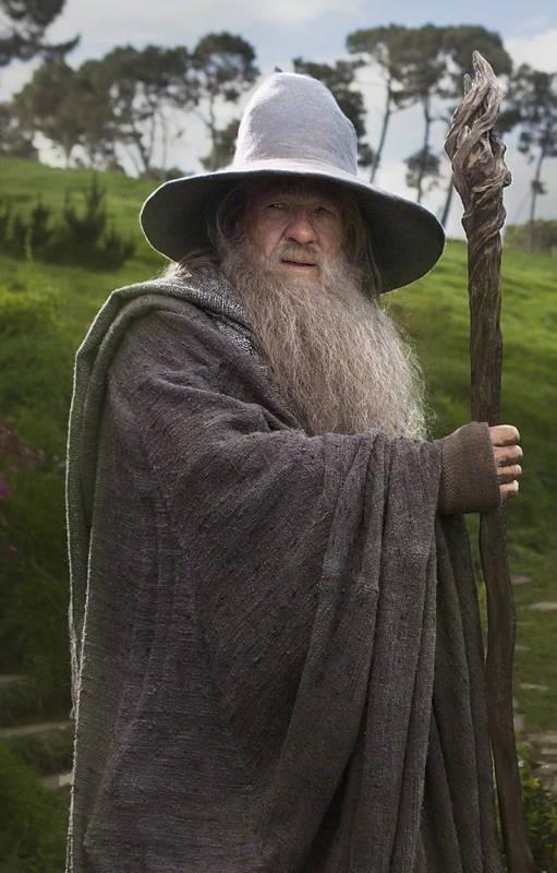 Gandalf, der Weise aus dem Mittelalter