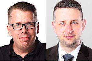 Wolfgang Höhne und Mike Besser