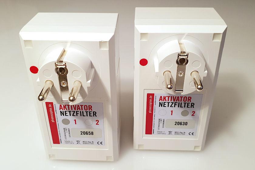 Aktivator Netzfilter 1 und 2 von Phonosophie