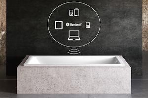 Sound Wave System für Badewanne