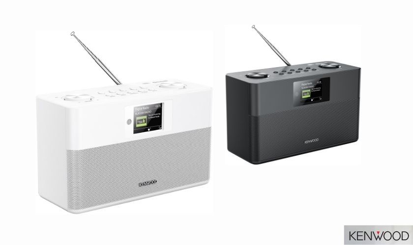 Das Kenwood DAB+ Radio CR-ST80DAB wird es in den Farben Schwarz und Weiß geben