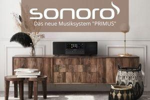 """Das neue Musiksystem """"PRIMUS"""" von sonoro"""