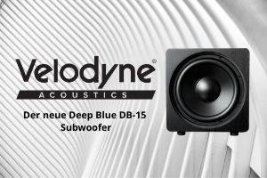 Der neu Deep Blue DB-15 Subwoofer von Velodyne Acoustics