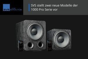 SVS stellt neue 1000 Pro Lautsprecher vor