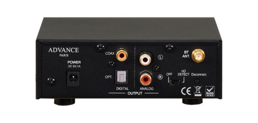 Advance Paris mit Röhrentechnologie und analoger Klangsignatur