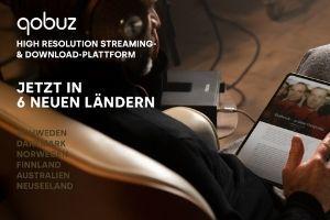 """Die Streaming Plattform """"Quobuz"""" aus Frankreich ist jetzt in sechs weiteren Ländern erhältlich"""