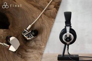 Die japanische Manufaktur FINAL zeigt, wie hochwertige Kopfhörer aussehen können
