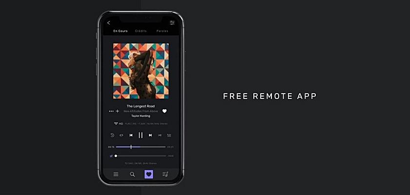 Audirvana Studio ist auch als Smartphone App erhältlich