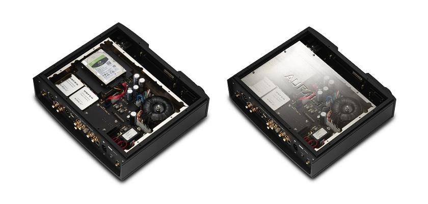 Das Innere des ALTAIR G2.1 Digital Audio Streamers von AURALiC