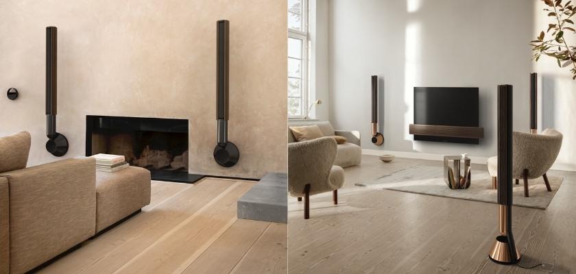 Der modern vernetzte Lautsprecher Beolab28 von Bang & Olufsen in eindrucksvollem Design