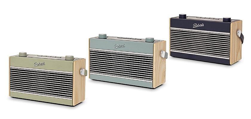 Der neue ROBERTS Rambler BT Stereo ist in drei Farben erhältlich