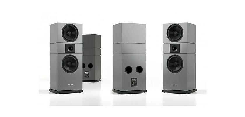 Die Amber MKII von Pylon Audio sind in Schwarz, Weiß, Grau und mit Holzfunieren sowie Speziallackierung zu bekommen