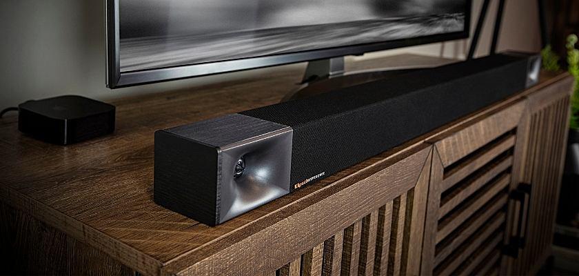 Die Klipsch Soundbar 600 sorgt für besten Klang