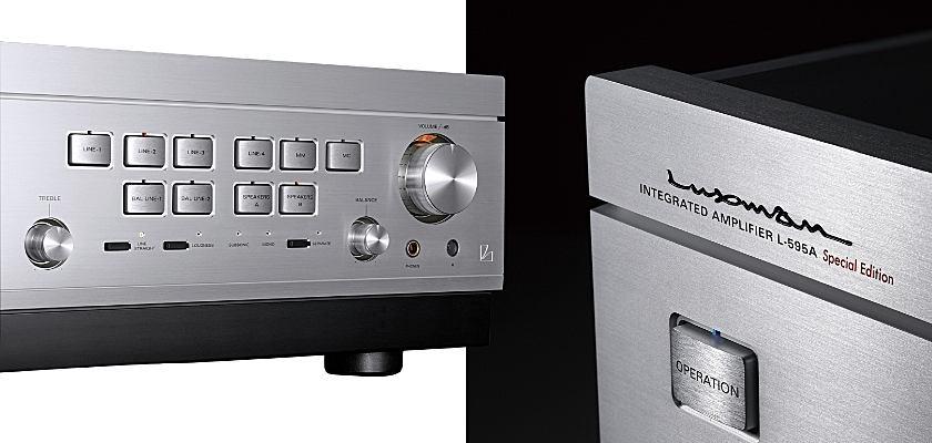 Die Luxman Class-A-Vollverstärker L-595A Special Edition wird es in limitierter Stückzahl geben