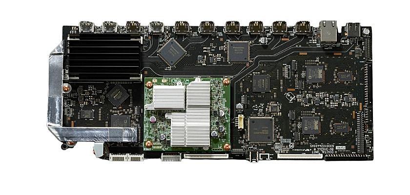 Die alten AV8805-Modell können einfach mit einer neuen HDMI/Digitalkarte zum AV8805A Modell transformiert werden
