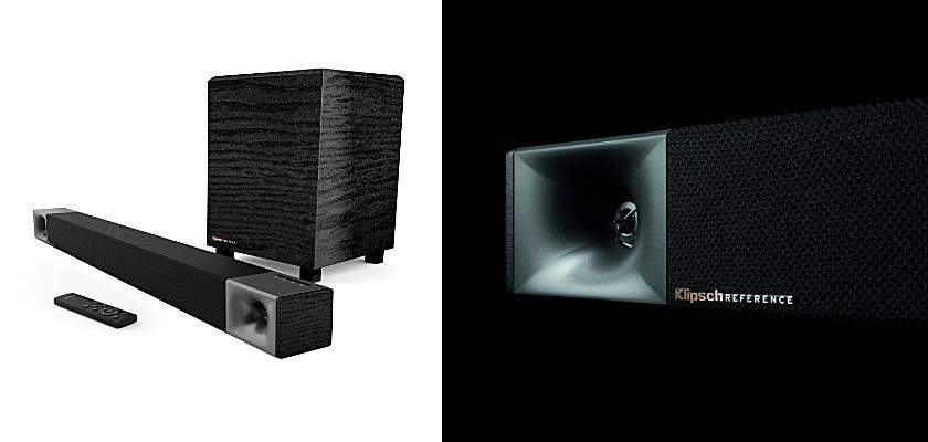 Klipsch Soundbar 400 (links) und Soundbar 600 (rechts)
