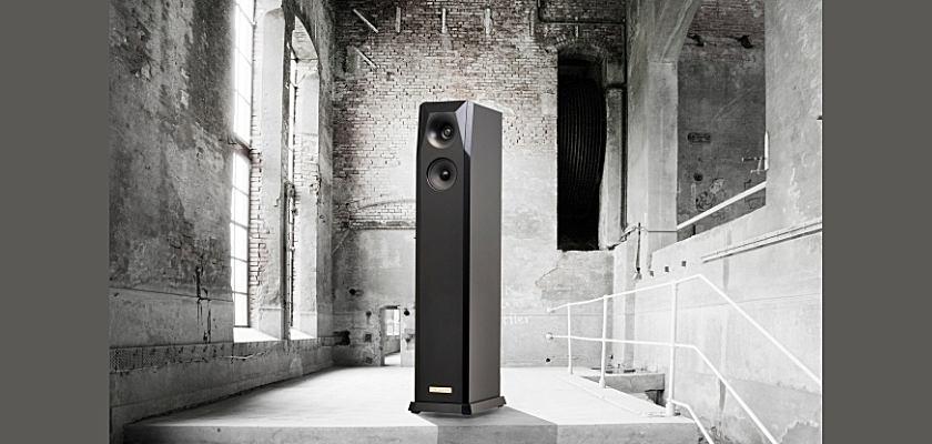 Der siebenseitige Lautsprecher von Noble & Noble