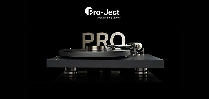 Der PRO Plattenspieler von Pro-Ject