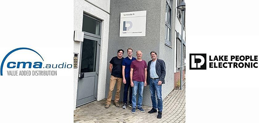 Helmut Butz und Daniel Suchy sind ab sofort Teil des Lake People Electric Entwickler-Teams