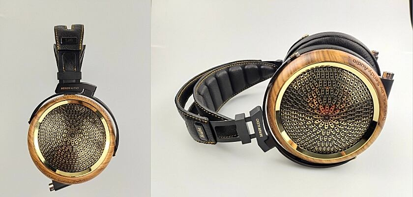 Sendy Audio Peacock Referenz-Kopfhörer mit Quad-Former-Technologie