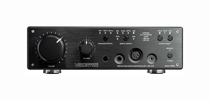 Violectric DHA V590² Kopfhörerverstärker