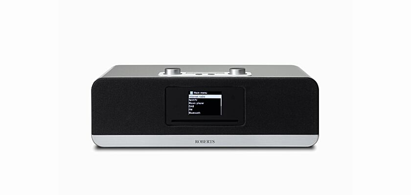 Roberts Audio Stream 67 in Silber (Silver)