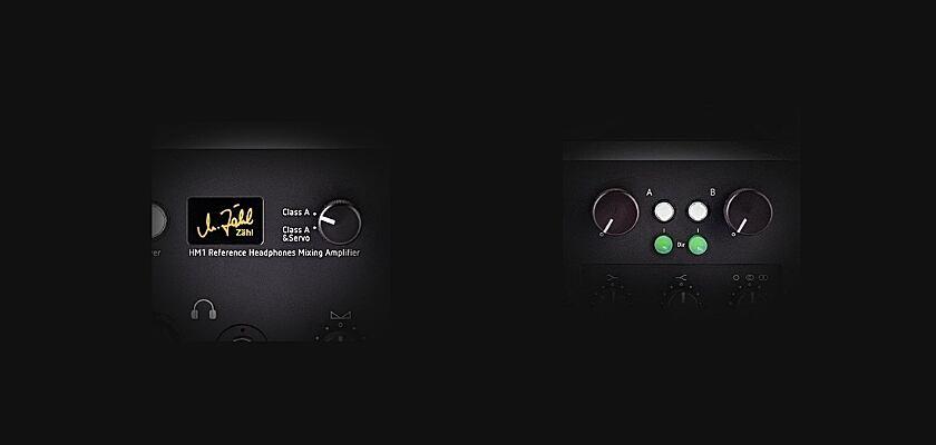 A/B Hörvergleich HM1 Referenz-Kopfhörer-Verstärker von Zähl