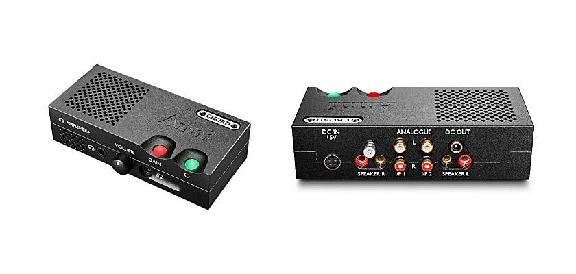 Der ANNI-Vollverstärker von Chord Electronics von Vorne und Hinten