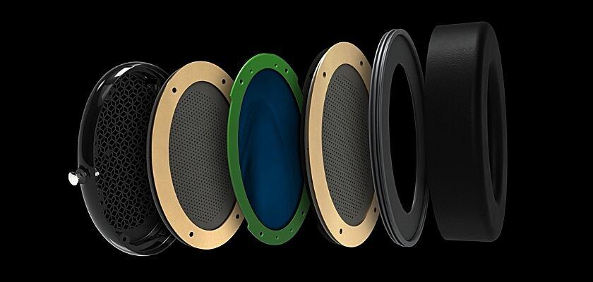 Für den Audeze CRBN Kopfhörer wurde auf hochwertige Materialien gesetzt