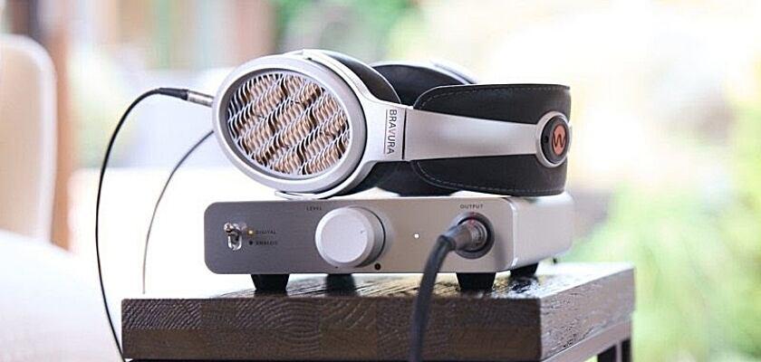 Warwick Acoustics Bravura Kopfhörer in Silber