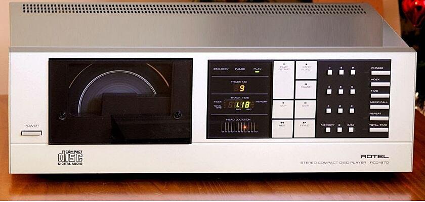 RCD-870 CD-Player von Rotel